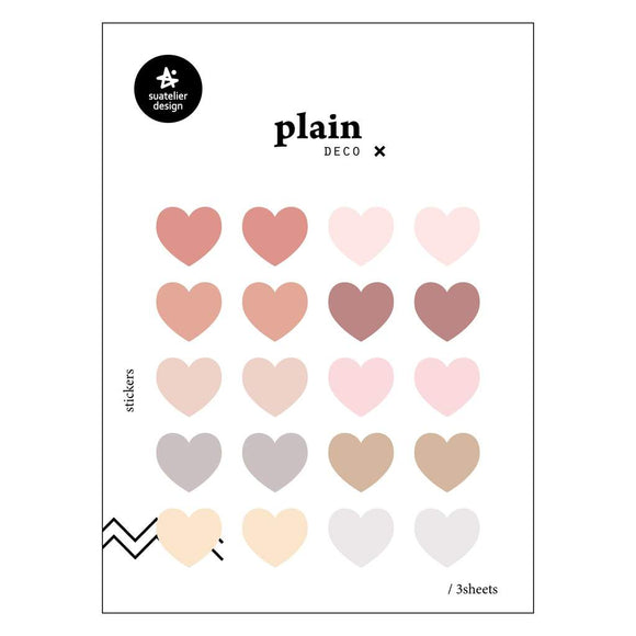 Suatelier Plain 53 Sticker Sheet