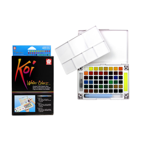 SAKURA KOI WATER COLOURS | 48 Colors