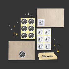 Load image into Gallery viewer, azreenChan Sticker // Hello/TQ (12 pcs)