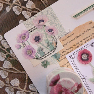 Loi Design Papaver PET & Washi Tape