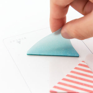 Film Memo Sticky Notes | Triangle (L)