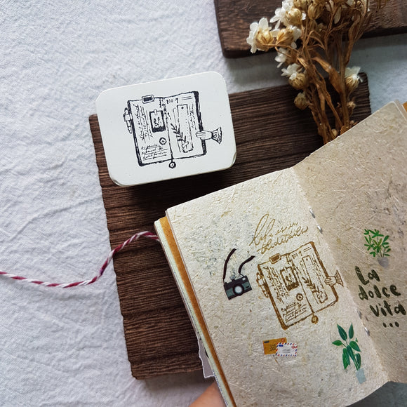 Create Rubber Stamp Collection - Journal Lover