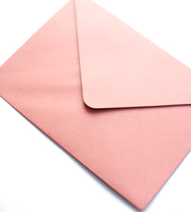 120GSM Envelope // Blush