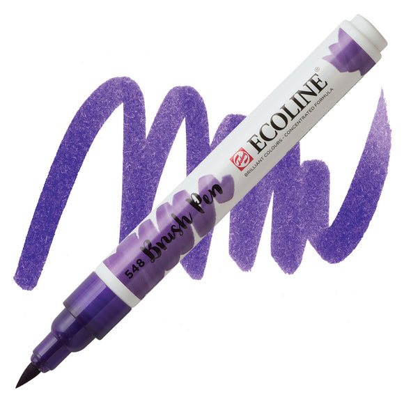 Ecoline Watercolor Brush Pen / 548 Blue Violet
