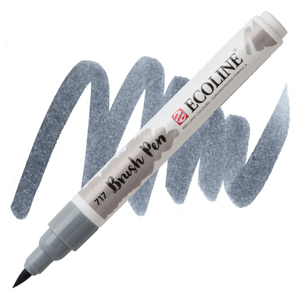 Ecoline Watercolor Brush Pen / 717 Cold Grey