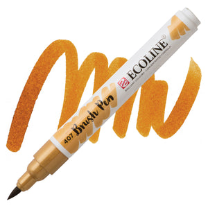 Ecoline Watercolor Brush Pen / 407 Deep Ochre