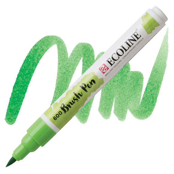 Ecoline Watercolor Brush Pen / 600 Green