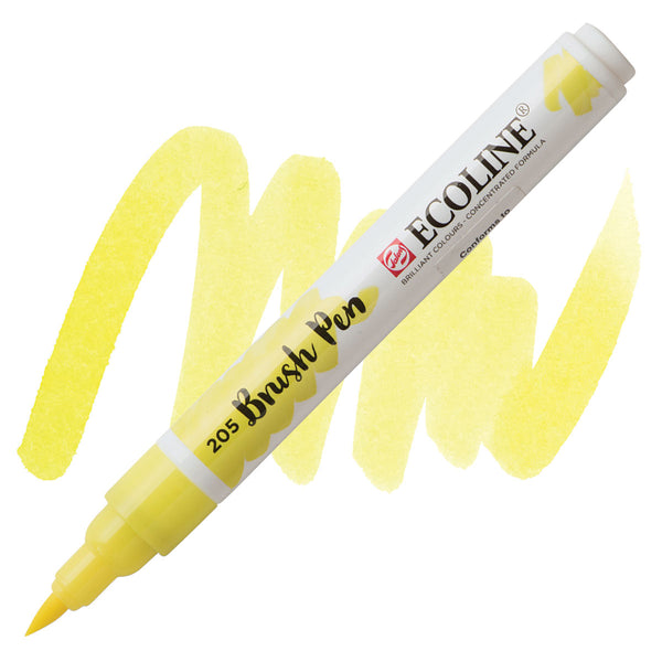 Ecoline Watercolor Brush Pen / 205 Lemon Yellow