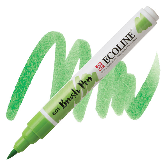 Ecoline Watercolor Brush Pen / 601 Light Green