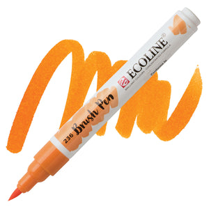 Ecoline Watercolor Brush Pen / 236 Light Orange