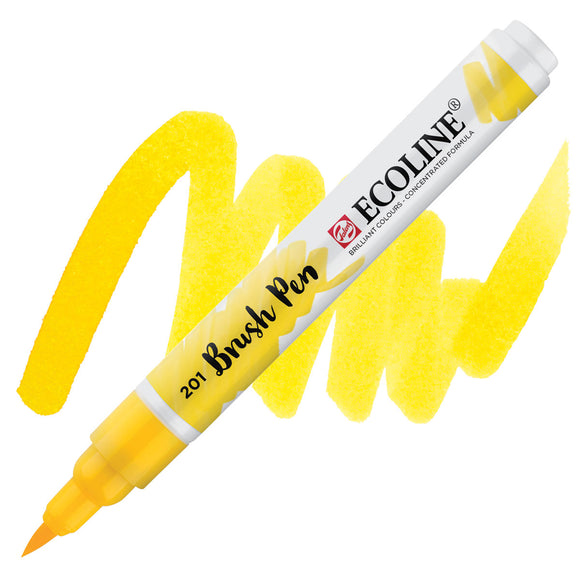 Ecoline Watercolor Brush Pen / 201 Light Yellow