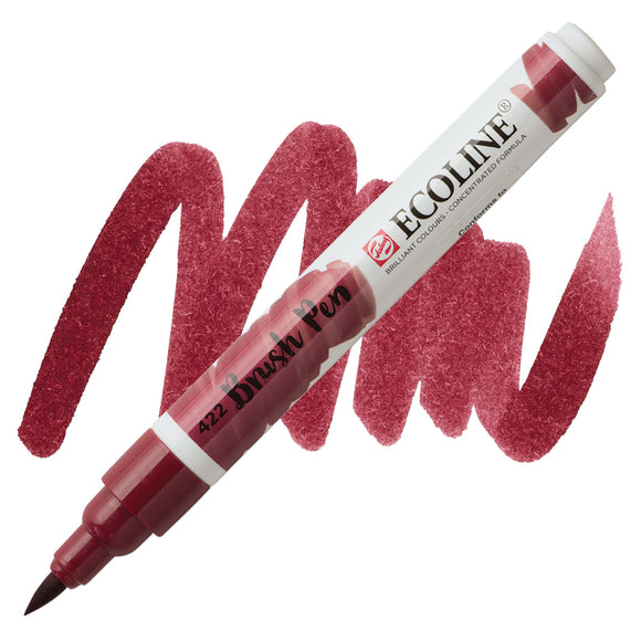 Ecoline Watercolor Brush Pen / 422 Red Brown