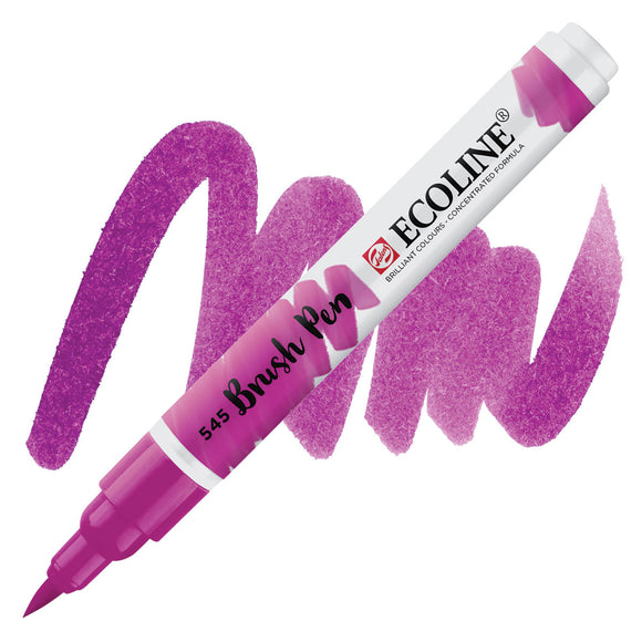 Ecoline Watercolor Brush Pen / 545 Red Violet