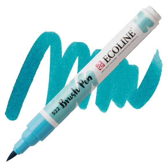 Ecoline Watercolor Brush Pen / 522 Turquoise Blue