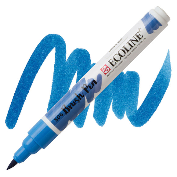 Ecoline Watercolor Brush Pen / 506 Ultramarine Deep