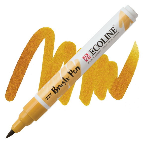 Ecoline Watercolor Brush Pen / 227 Yellow Ochre