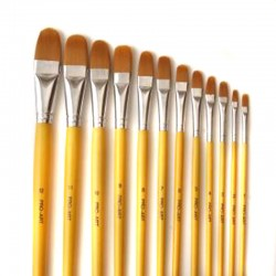 Artpac Nylon Series 428 Filbert Brush