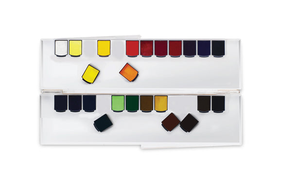 Mijello Mission Gold Class Pan Watercolor Set // 24