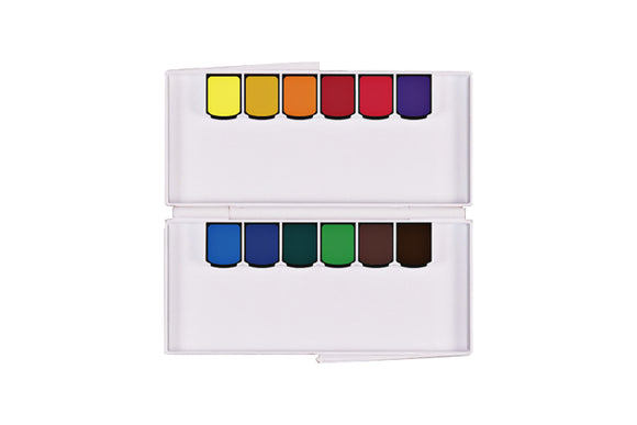 Mijello Mission Gold Class Pan Watercolor Set // 12