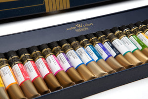 Mijello Mission Gold Class 7ml Tube Watercolor Set // 24