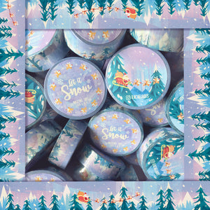 Rachelhofs Let it Snow Washi Tape