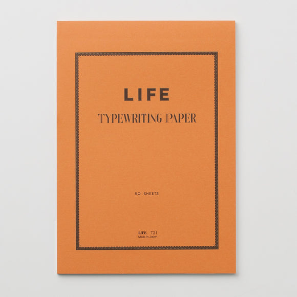 LIFE Typewriting Paper