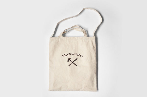Tools to Liveby Tote (Vintage Typo)