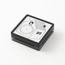 Load image into Gallery viewer, MIDORI Paintable Stamp // Clock