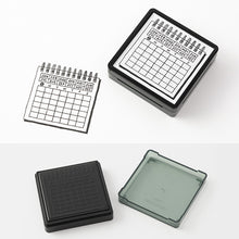 Load image into Gallery viewer, MIDORI Paintable Stamp // Calender