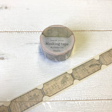 Load image into Gallery viewer, HUTTE - Vintage Beige Label Washi Tape