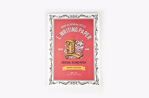 Life L.Writing Paper // White Paper  - Stickerrific