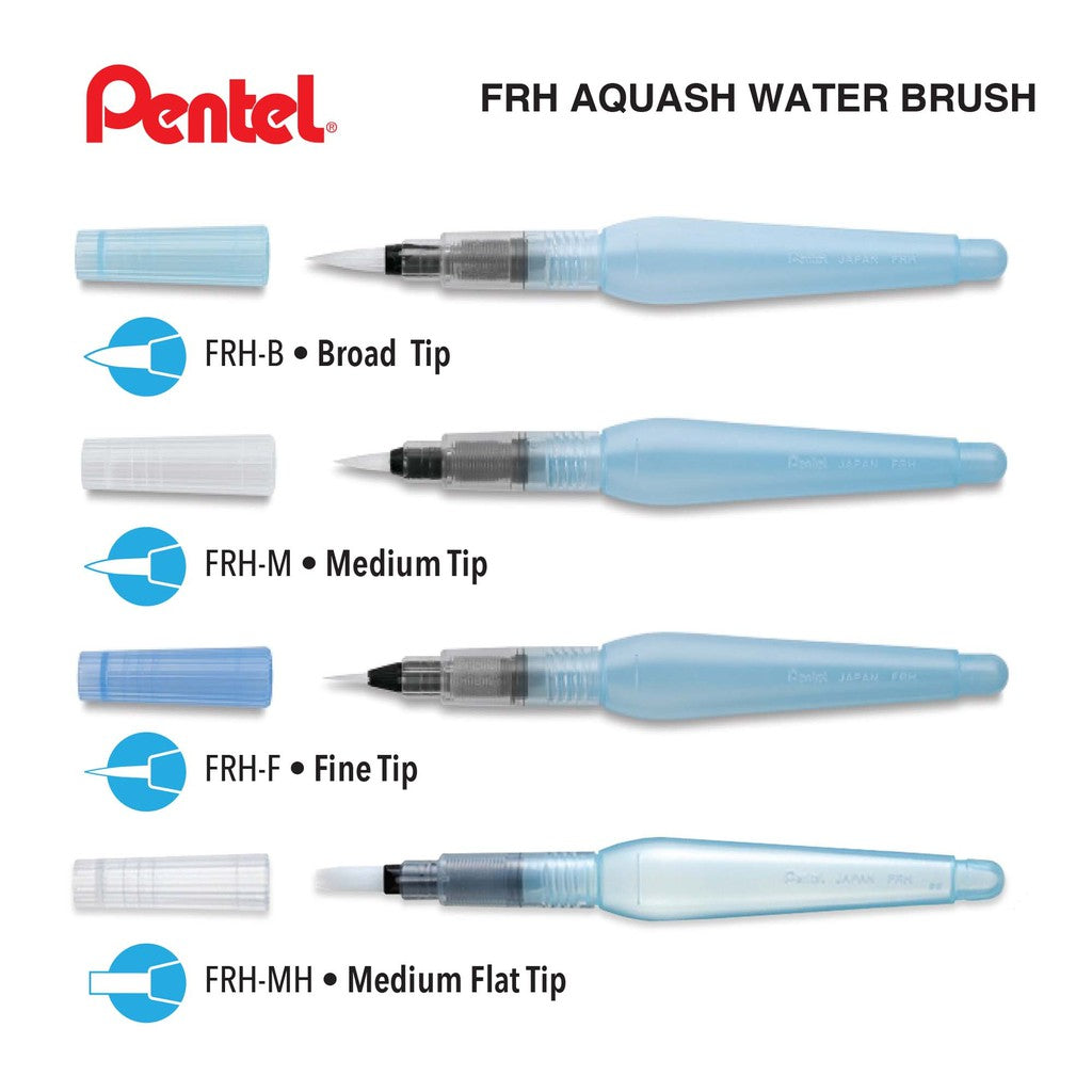 Pentel Aquash Water Color Brush  - Stickerrific
