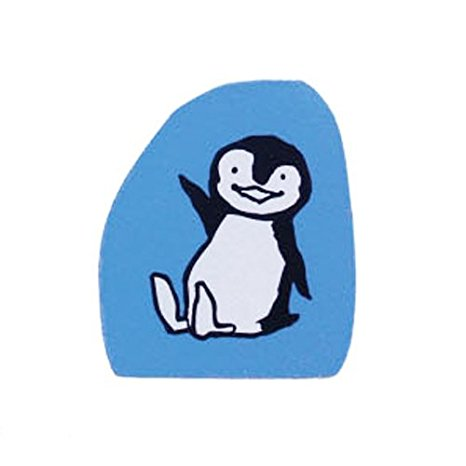 Kodomo No Kao | Writing Penguin Rubber Stamp
