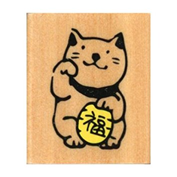 Kodomo No Kao | Maneki Neko Rubber Stamp