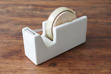 Load image into Gallery viewer, Classiky White Porcelain Tape Dispenser