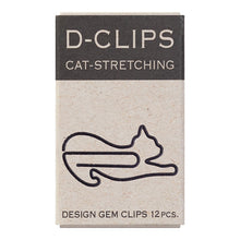 Load image into Gallery viewer, Midori D-Clips Cat Stretching