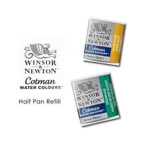 Winsor & Newton Cotman Watercolour Half Pan Refill