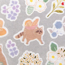 Load image into Gallery viewer, Yama Life Washi Sticker // Raccoon