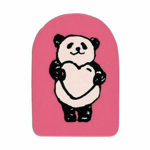 Kodomo No Kao Rubber Stamp // Panda Heart
