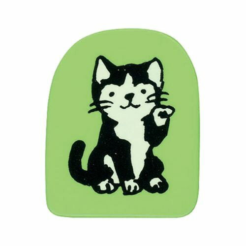 Kodomo No Kao Rubber Stamp // Cat Maneki
