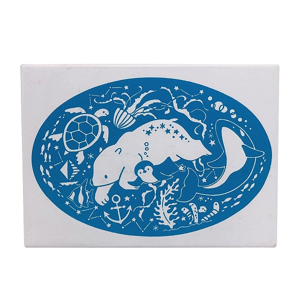 Kodomo No Kao x Atelier Naco Rubber Stamp // Animal of the Sea