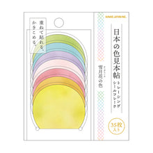 Load image into Gallery viewer, Kamio Japan Tracing Paper Flake Stickers