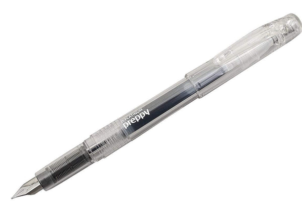 PLATINUM Preppy Fountain Pen Fine// Crystal Clear