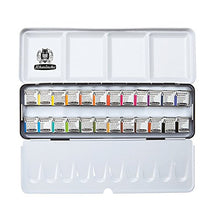 Load image into Gallery viewer, AKADEMIE® Aquarell metal box with 24  half pans