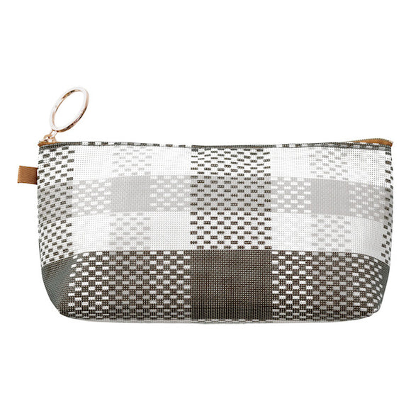 Mesh Graphics Pouch // Pen Case (L)