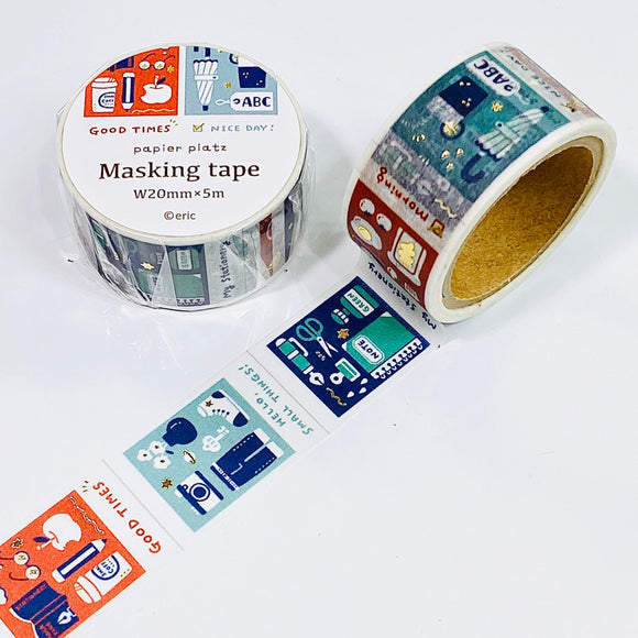 eric small things - Films Foiled Washi Tape