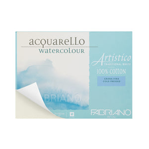Artistico Traditional White Watercolor Blocks // Cold Press (200GSM)