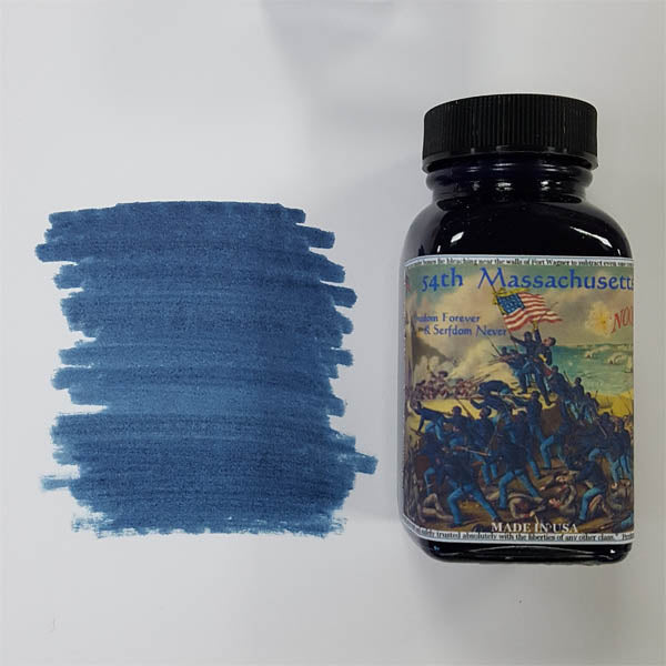 Noodler's Fountain Pen Ink // 54th Massachusetts (Bulletproof)
