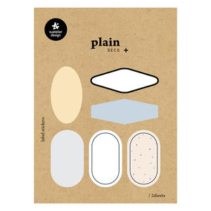 Suatelier Plain 60 Sticker Sheet