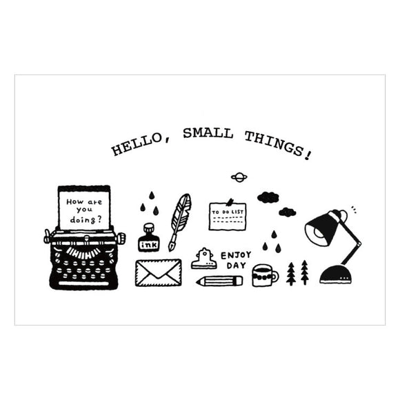 eric - Hello, Small Things! Postcard III